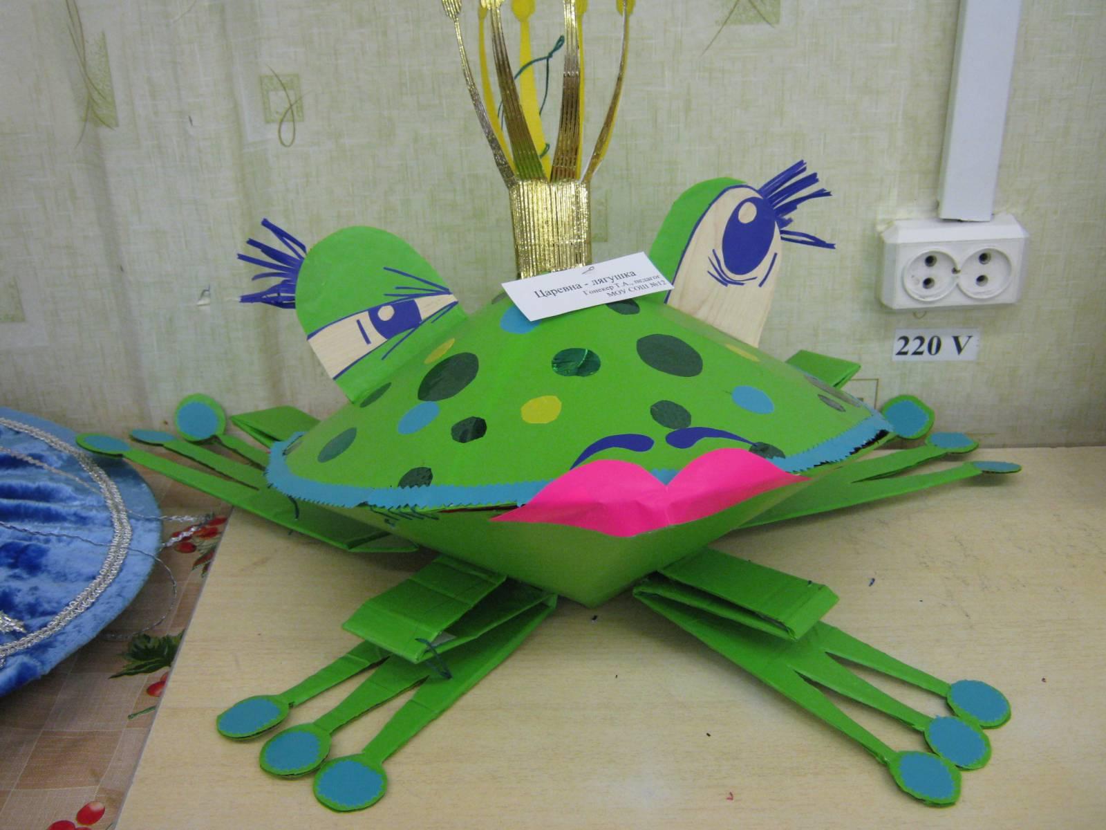Фото лягушки своими руками
