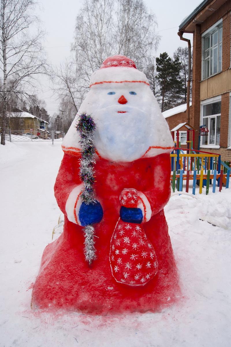 Фигура дед мороз своими руками
